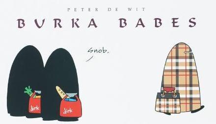 Portada del cómic «Burka Babes»